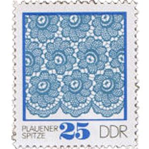 ドイツの刺繍切手