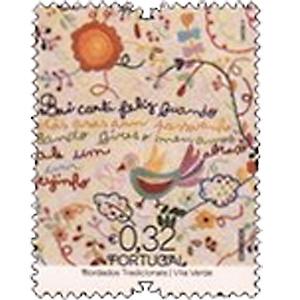 ポルトガルの刺繍切手(ぽるとがるのししゅうきって)2
