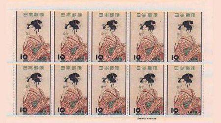 浮世絵切手